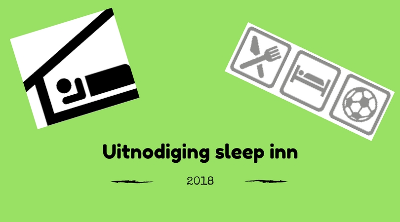 Uitnodiging Sleep Inn 2018