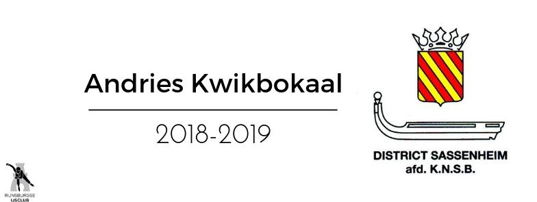 Uitslagen Andries Kwik Bokaal 15 Maart