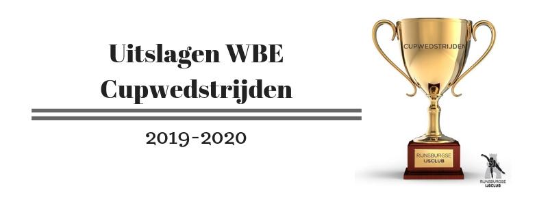 Uitslagen WBE Cupwedstrijd Van 12 Oktober 2019