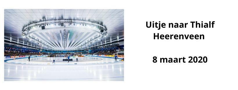 Uitje Naar Thialf Heerenveen World Cup Finale 8 Maart 2020