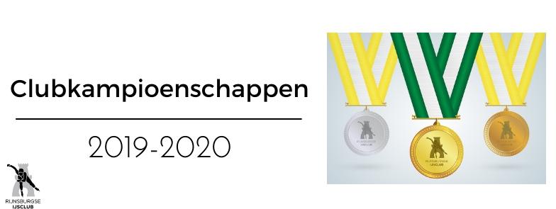 Uitslagen Clunkampioenschappen 2019-2020